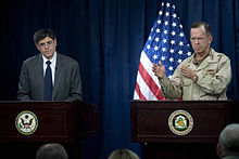 Jack Lew and Adm Mike Mullen