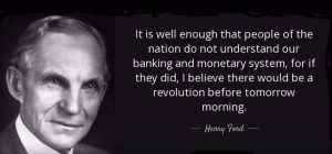 Henry Ford on Banking
