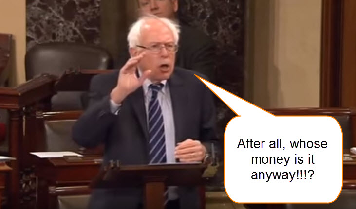 Sanders- Tax the Rich