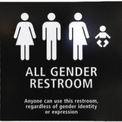 Transgender Bathroom Sign
