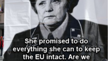 Merkel- The East German