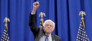 bernies-raised-fist-salute