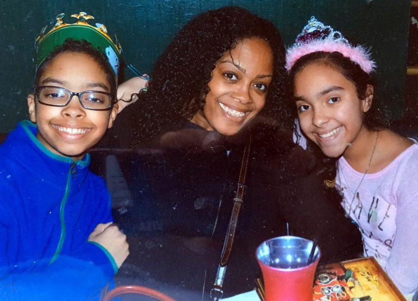 Slain NYPD Police Officer and Twins