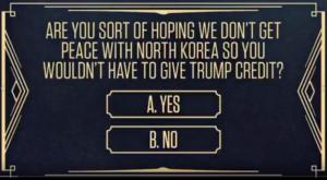 North Korean Summit Question