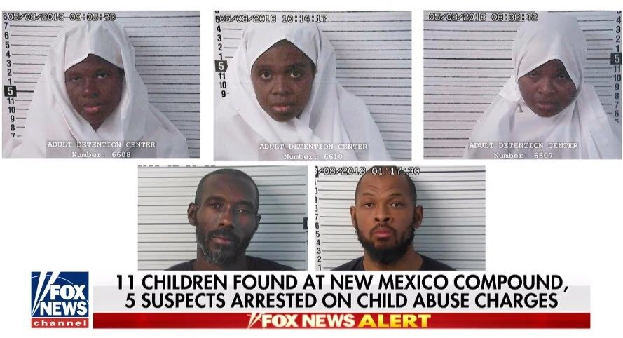 New Mexico Compound Accused