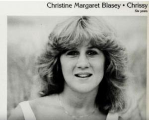 Christine Blasey Ford- high school picture