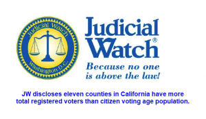 Judicial Watch on California Voters