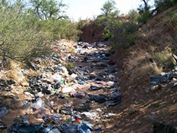 Arizona Border Trash
