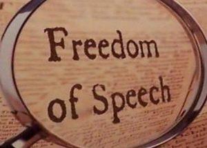 Freedom of Speech Legislation