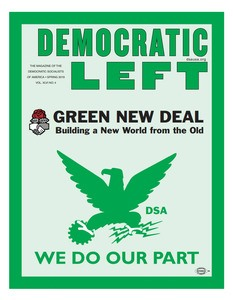 Green New Deal - Democratic Left Magazine